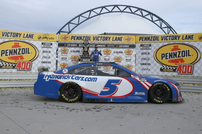 NASCAR akan melempar dadu di Las Vegas Motor Speedway
